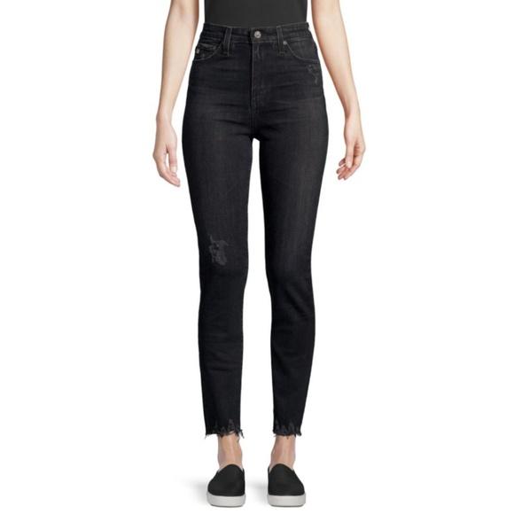 Ag Adriano Goldschmied Denim - AG Jeans Sophia High-Rise Washed Straight-Leg Jean